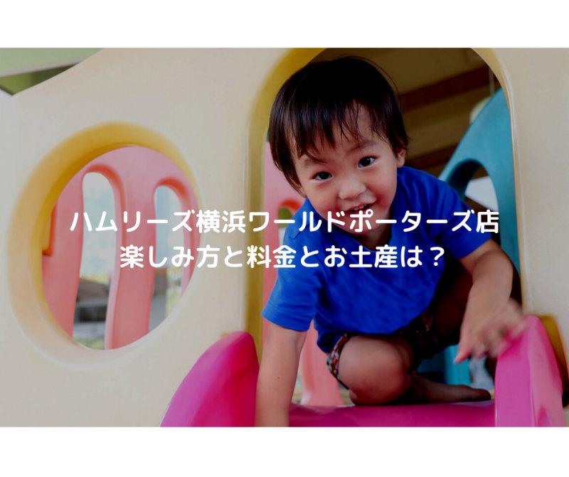 ハムリーズ横浜ワールドポーターズ店 楽しみ方と料金とお土産は?